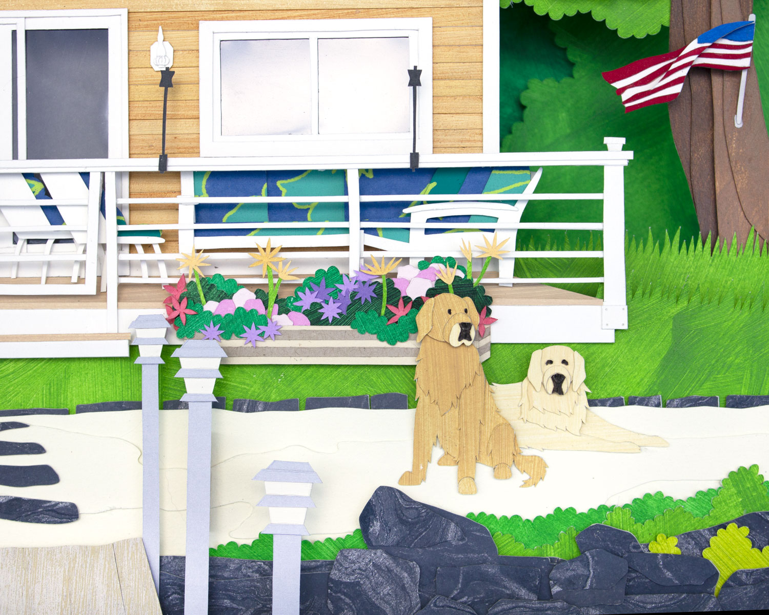 Lakehouse: Pups in the sand